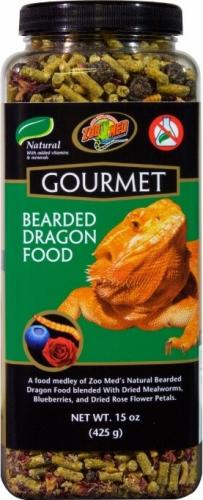 Aliment gourmet pour pogona