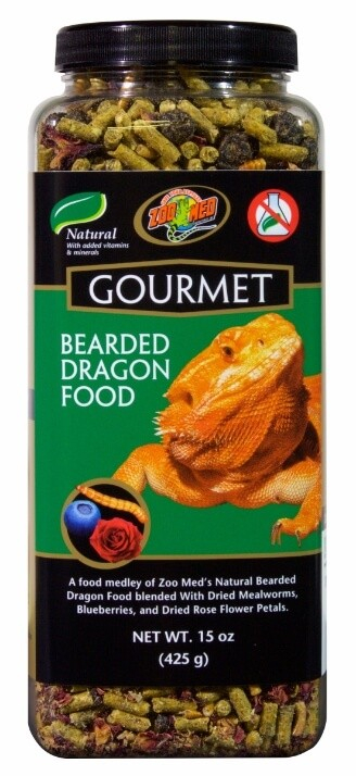 Aliment gourmet pour pogona _0