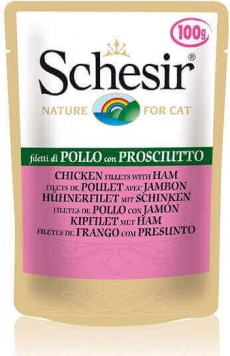 Comida para gatos en gelatina Schesir 100 gr