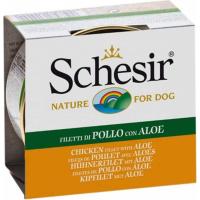 SCHESIR Pâtée Naturelle 150g pour Chien Adulte - 5 Saveurs au Choix
