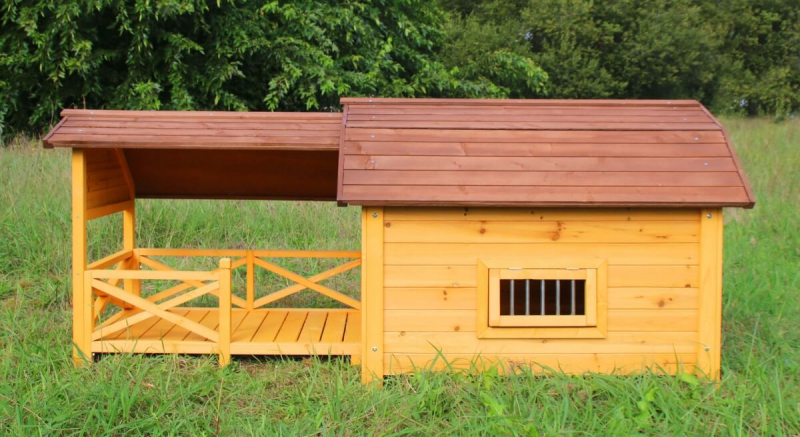 Caseta con terraza cubierta ZOLIA TIMEO