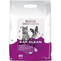 Lingettes humides soin des oreilles Oropharma pour chiens et chats