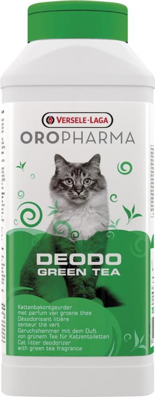 Désodorisant Litière Deodo Oropharma au thé vert 750 gr