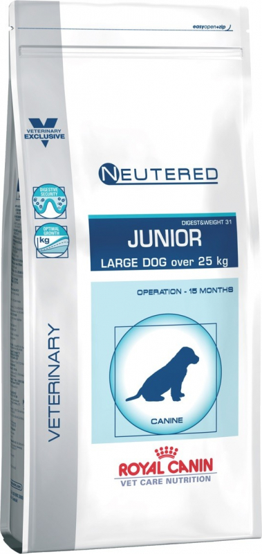 ROYAL CANIN Vet Care Neutered Junior Large Dog