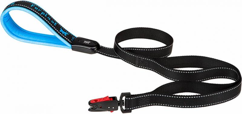 Laisse Sport Dog Matic bleu
