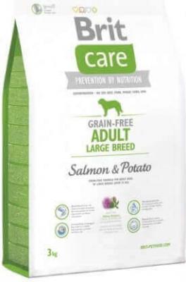 BRIT CARE Grain-Free Adult Large Breed Salmón & Patata