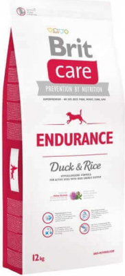 BRIT CARE Duck and Rice Endurance pour Chien Adulte Actif