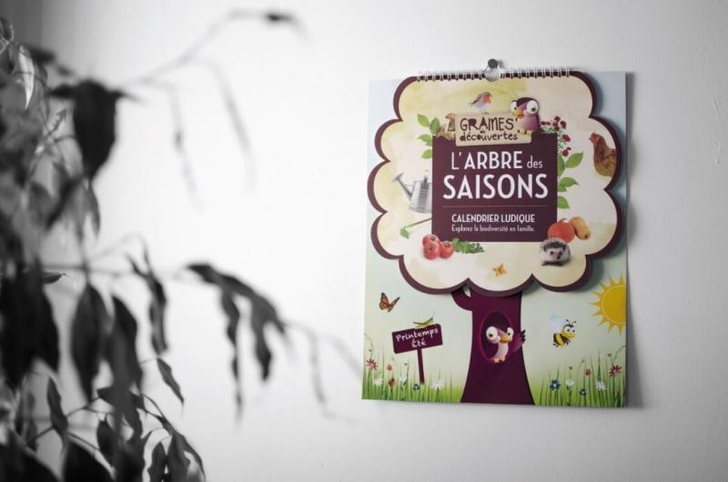 Calendário perpétuo A árvore das estações