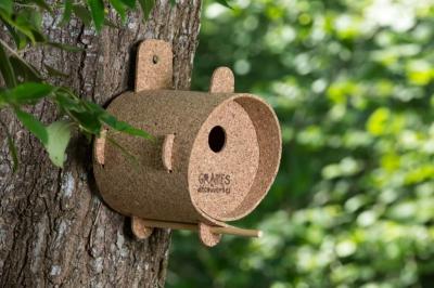Le Refuge des oiseaux nichoir écologique et naturel