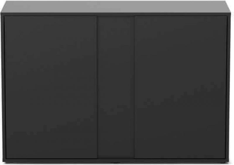 Mueble negro para acuario Elegance expert