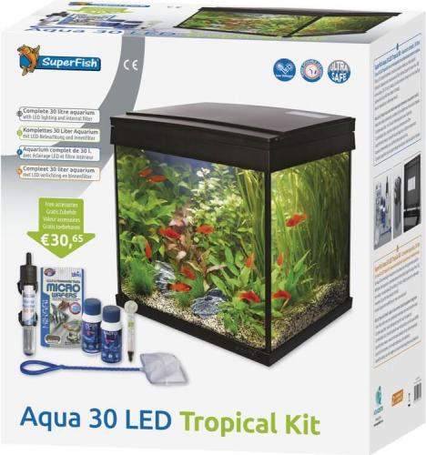 Aquariums Aqua 30 LED - Tropical Kit_1
