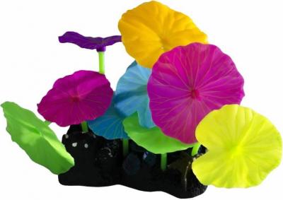 SuperFish Décos FLUO - Lotus et Champignons