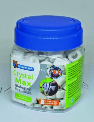 SuperFish CrystalMax média filtrant biologique