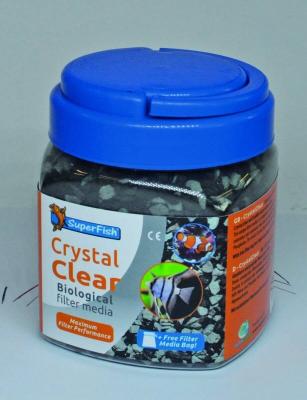 SuperFish Crystal Clear, média filtrant biologique