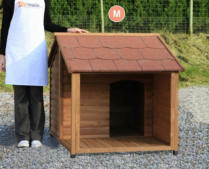 Niche pour chien avec terrasse ZOLIA MANOA