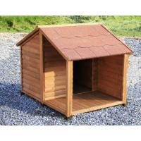 Niche pour chien avec terrasse ZOLIA MANOA - 2 tailles disponibles