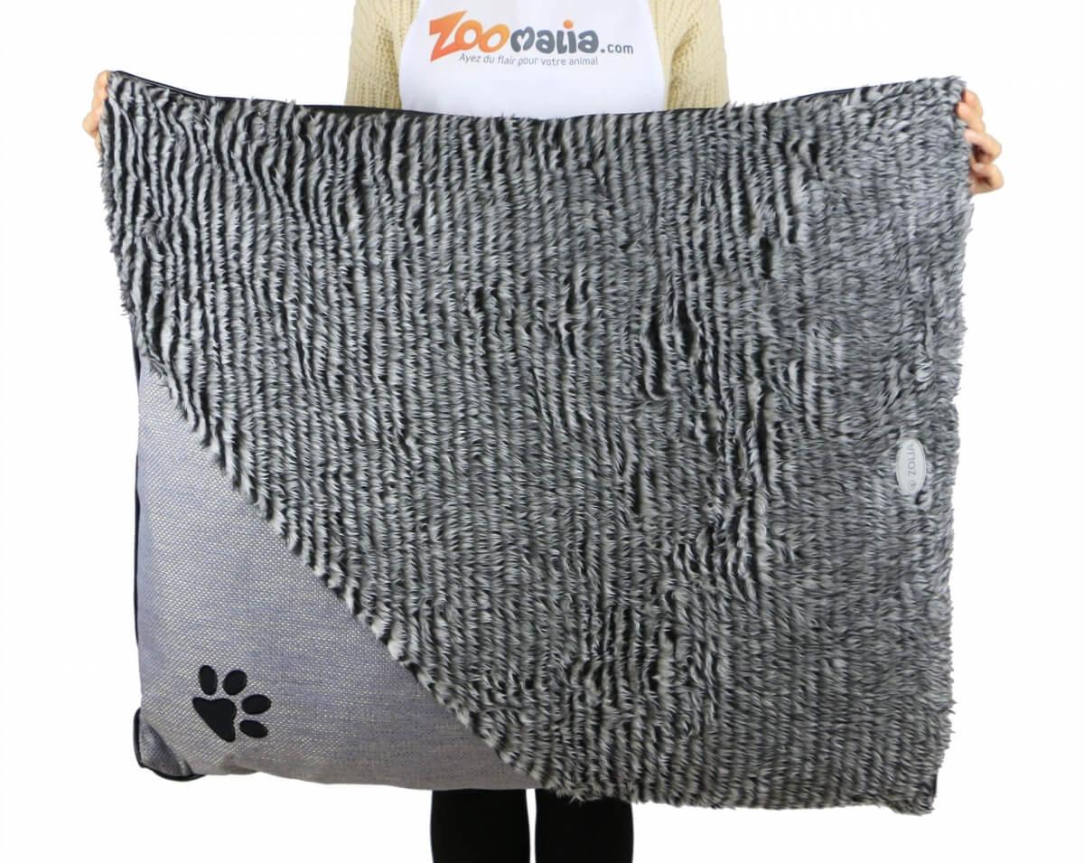 Coussin élégant ZOLIA ENZO Gris pour chien et chat_6