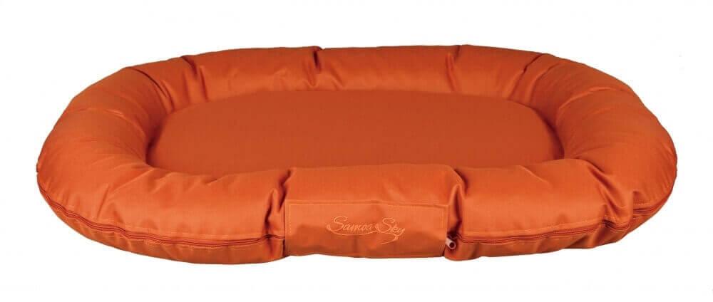 coussin samoa sky orange cuivr coussin et tapis. Black Bedroom Furniture Sets. Home Design Ideas