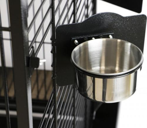 Cage double ZOLIA GABON pour grand perroquet _3