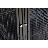 Cage double pour grand perroquet Zolia Gabon - H 178 cm