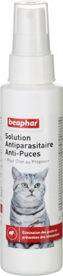 Beaphar solution antiparasitaire anti-puces pour chat au propoxur