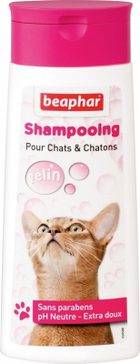 Shampoing extra-doux pour chat