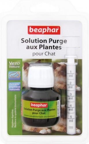 vermipure solution purge aux plantes chat anti parasites interne contre les vers. Black Bedroom Furniture Sets. Home Design Ideas