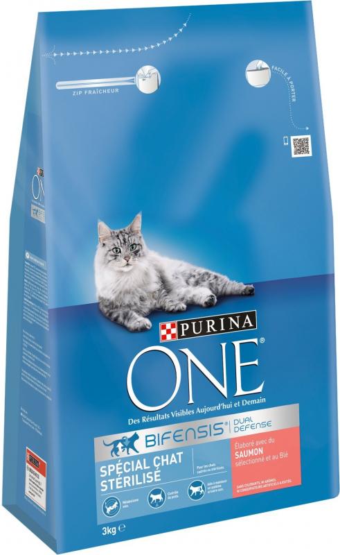 Purina ONE Sterilcat especial gato esterilizado de salmón
