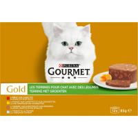 GOURMET GOLD Les Terrines aux légumes