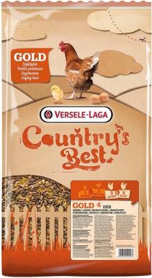 COUNTRY'S BEST Gold 4 mix - mélange de céréales avec granulés de ponte
