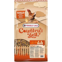 Gold 4 Mix Country's Best Mistura de cereais com granulado para poedeiras