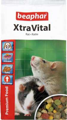 XtraVital, alimentation premium rat