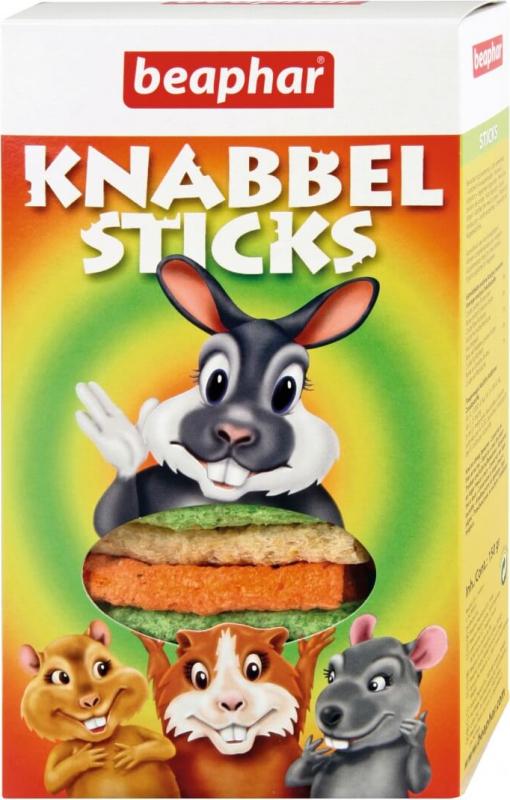 Knabbel Sticks, bastoncillos extruídos para roer