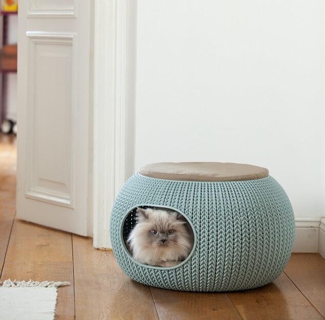 cozy pet home couchage d coratif 2en 1 couchage chat. Black Bedroom Furniture Sets. Home Design Ideas