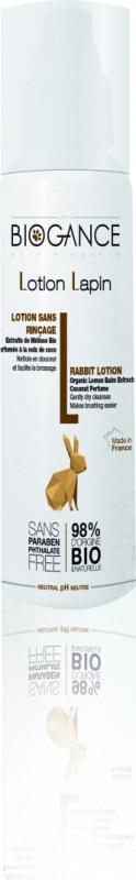 Loción limpiadora conejo 98% natural