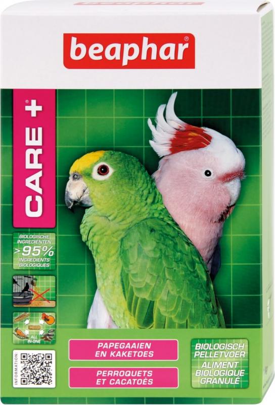 Care+ alimentation extrudée pour Perroquets et Cacatoès