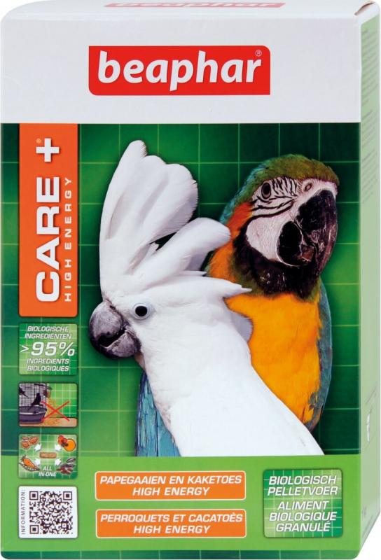 Care+ alimentation extrudée High energy pour Perroquets et Cacatoès