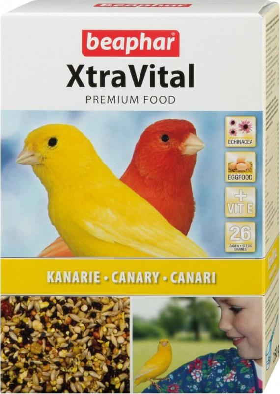 XtraVital, alimentos de qualidade para canários