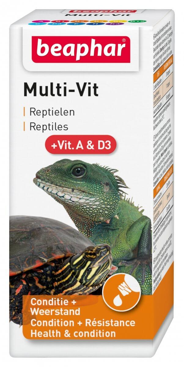 Multi-vit, Vitamine für Reptilien_0