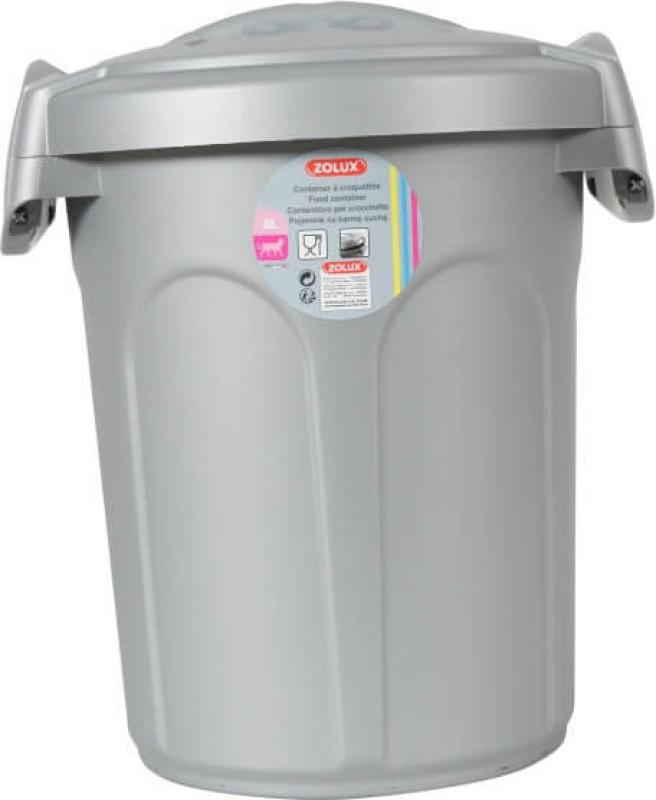 Conteneur à croquettes plastique contenance 8L