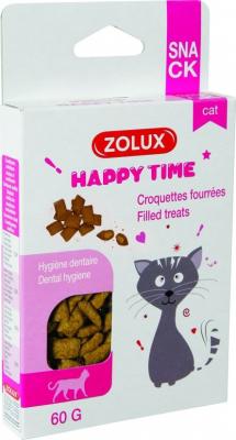 Croquettes hygiène dentaire pour chat 60g et 4kg