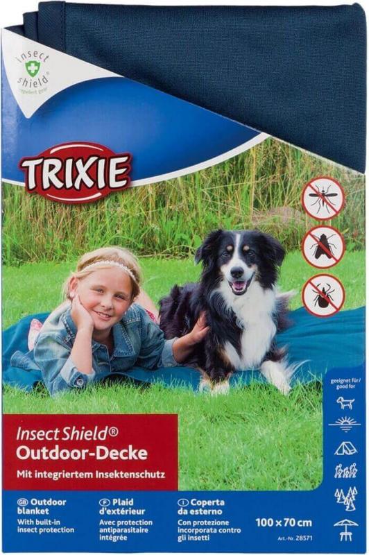 Insect Shield Manta de exterior anti-insectos para perro