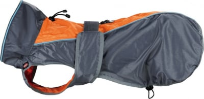 Imperméable Solid -  gris/orange
