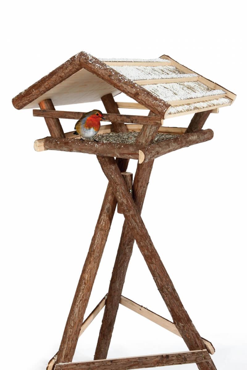 Natural Living Mangeoire oiseau avec pied_1