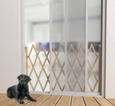 Barriere pour chien extensible en bois verni STOPFIX XX-TALL H120cm