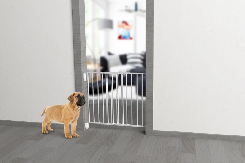 Barriere pour chien en métal WAHIKI deux battants H68cm