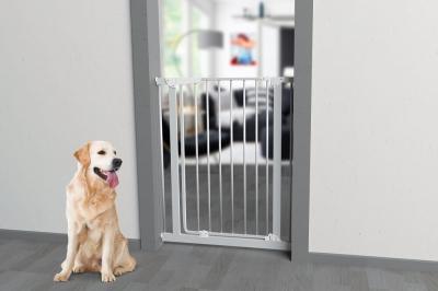 Barriere pour chien métallique avec portillon MARA H95cm