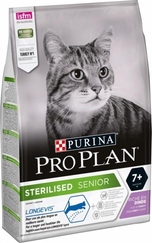 PRO PLAN Sterilised Senior 7+ pour chat âgé stérilisé