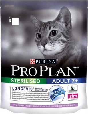 PRO PLAN Cat sterilised 7+ Longevis