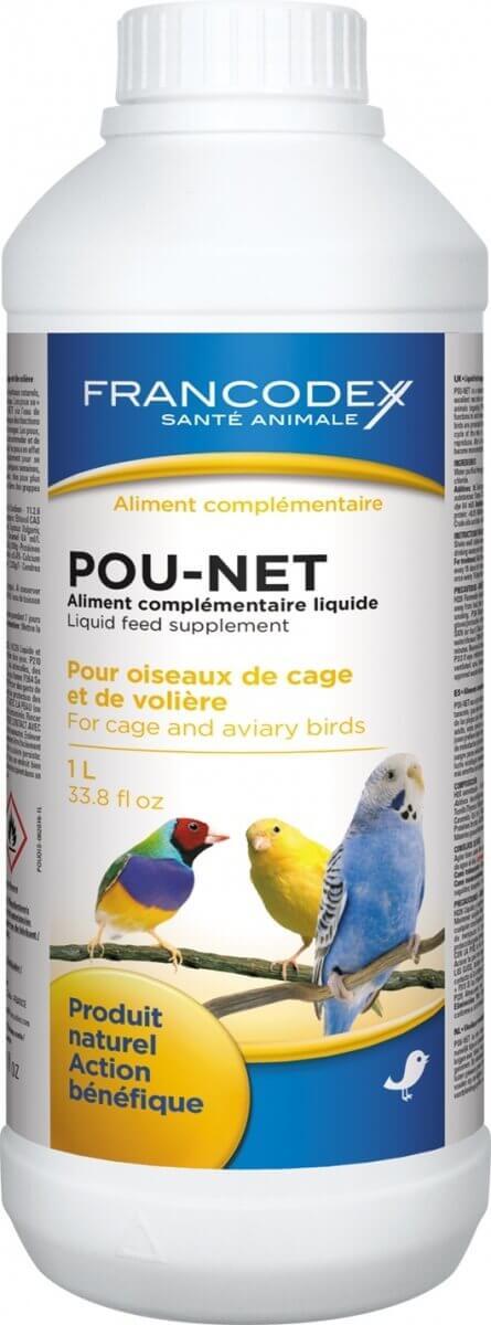 POU-NET antiparasitaire naturel pour oiseaux de cage et de volière_1